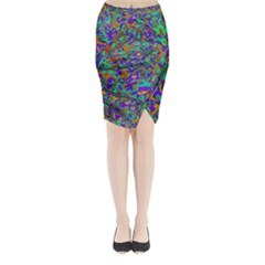 We Need More Colors 35a Midi Wrap Pencil Skirt