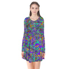 We Need More Colors 35a Flare Dress