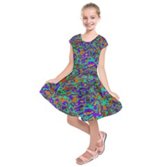 We Need More Colors 35a Kids  Short Sleeve Dress
