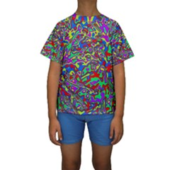 We Need More Colors 35c Kids  Short Sleeve Swimwear