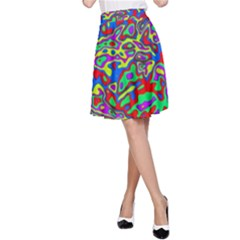 We Need More Colors 35c A-Line Skirt