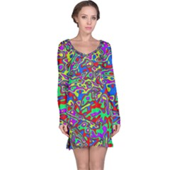 We Need More Colors 35c Long Sleeve Nightdress