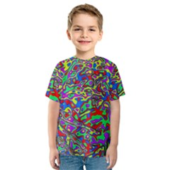 We Need More Colors 35c Kids  Sport Mesh Tee
