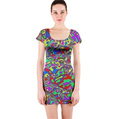 We Need More Colors 35c Short Sleeve Bodycon Dress