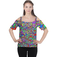 We Need More Colors 35c Women s Cutout Shoulder Tee