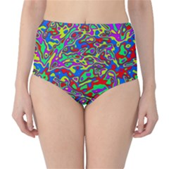 We Need More Colors 35c High-Waist Bikini Bottoms
