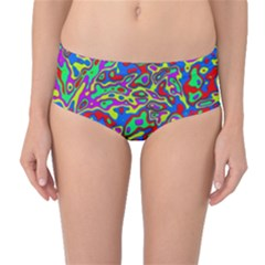We Need More Colors 35c Mid-Waist Bikini Bottoms
