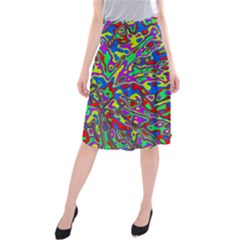 We Need More Colors 35c Midi Beach Skirt