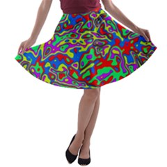 We Need More Colors 35c A-line Skater Skirt