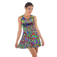 We Need More Colors 35c Cotton Racerback Dress