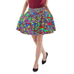 We Need More Colors 35c A-Line Pocket Skirt