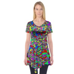 We Need More Colors 35c Short Sleeve Tunic