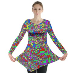 We Need More Colors 35c Long Sleeve Tunic