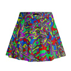 We Need More Colors 35c Mini Flare Skirt