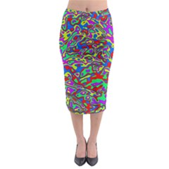 We Need More Colors 35c Midi Pencil Skirt