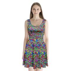 We Need More Colors 35c Split Back Mini Dress