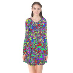 We Need More Colors 35c Flare Dress