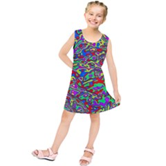 We Need More Colors 35c Kids  Tunic Dress