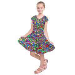 We Need More Colors 35c Kids  Short Sleeve Dress