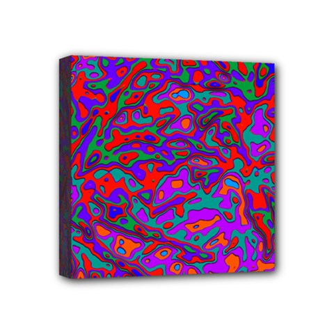 We Need More Colors 35b Mini Canvas 4  x 4