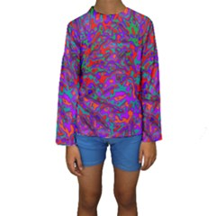 We Need More Colors 35b Kids  Long Sleeve Swimwear