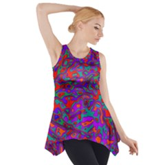 We Need More Colors 35b Side Drop Tank Tunic