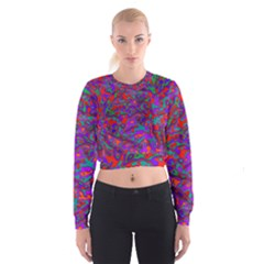 We Need More Colors 35b Women s Cropped Sweatshirt
