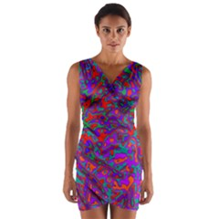 We Need More Colors 35b Wrap Front Bodycon Dress