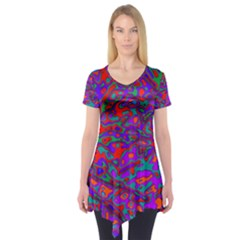 We Need More Colors 35b Short Sleeve Tunic