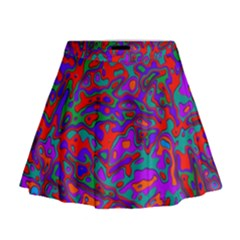 We Need More Colors 35b Mini Flare Skirt
