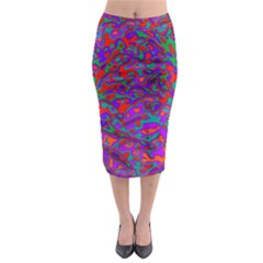 We Need More Colors 35b Midi Pencil Skirt