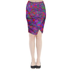 We Need More Colors 35b Midi Wrap Pencil Skirt