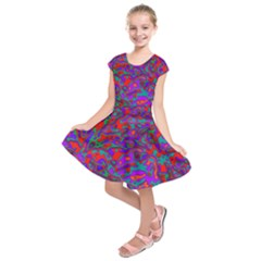 We Need More Colors 35b Kids  Short Sleeve Dress