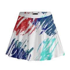 Scribbles                                                         Mini Flare Skirt