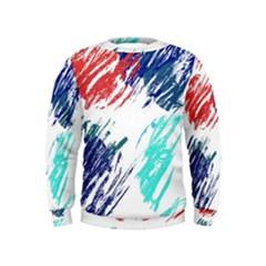 Scribbles                                                        Kid s Sweatshirt