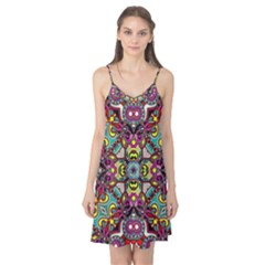 Traitional floral purple Camis Nightgown