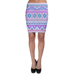 Tribal pastel hipster  Bodycon Skirt