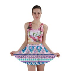 Tribal pastel hipster  Mini Skirt