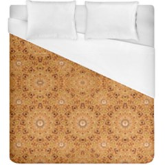 Intricate Modern Baroque Seamless Pattern Duvet Cover (King Size)