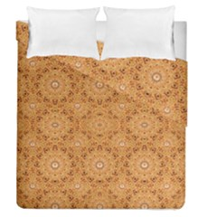 Intricate Modern Baroque Seamless Pattern Duvet Cover Double Side (Queen Size)