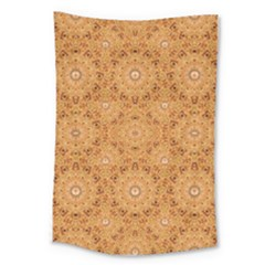 Intricate Modern Baroque Seamless Pattern Large Tapestry