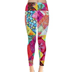 Colorful hipster classy Classic Winter Leggings