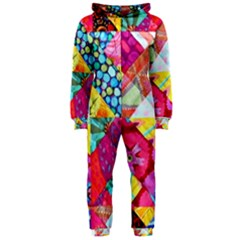 Colorful hipster classy Hooded Jumpsuit (Ladies)