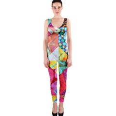 Colorful hipster classy OnePiece Catsuit
