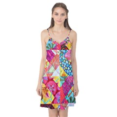 Colorful hipster classy Camis Nightgown