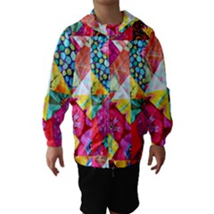 Colorful hipster classy Hooded Wind Breaker (Kids)