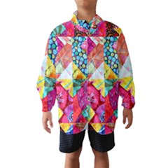 Colorful hipster classy Wind Breaker (Kids)