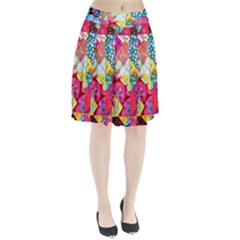 Colorful hipster classy Pleated Skirt