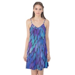 Blue bird feather Camis Nightgown