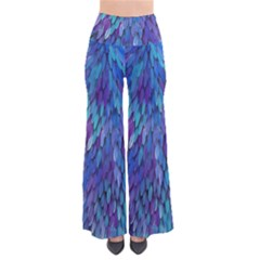Blue bird feather Pants